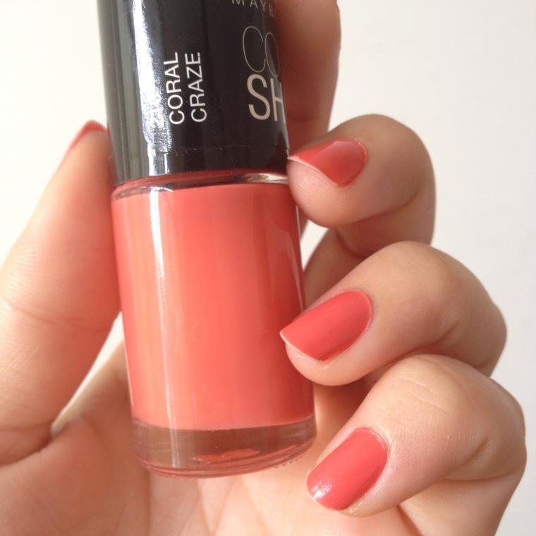 Gosto de Canela - Maybelline Coral Craze50