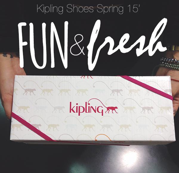 Kipling Shoes Spring 15' - Coleção Fun & Fresh