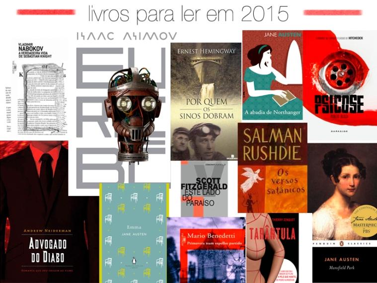 Gosto de Canela - Livros para ler em 2015