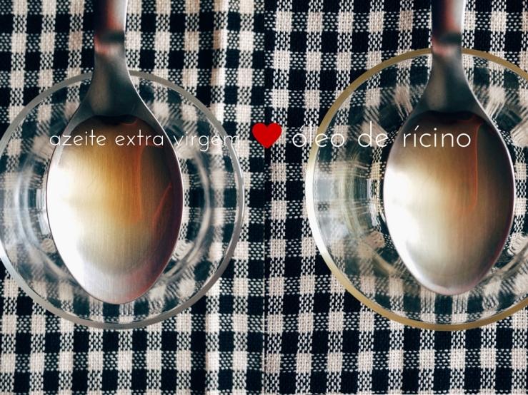Gosto de Canela - Umectação com óleo de rícino e azeite