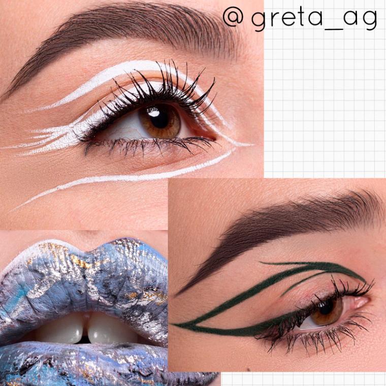 maquiadoras para seguir no instagram-greta
